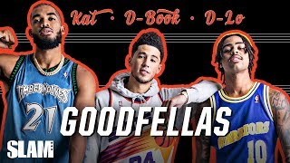 Download D'Angelo Russell, Devin Booker & Karl Towns GO WAY BACK | SLAM Cover Shoots Video