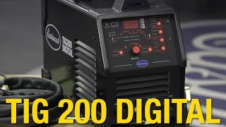 Download TIG 200 Digital Welder - Weld Steel & Aluminum - New Added Features - Eastwood Video