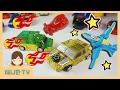 Download 제트와 고브 ♥ 새로운 메카니멀! 터닝메카드W 뽀로로 장난감 놀이 [애니한TV] Video