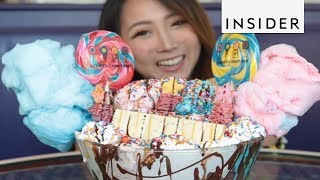 Download Massive Sundae Contains Every Sweet Imaginable Video