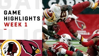 Download Redskins vs. Cardinals Week 1 Highlights | NFL 2018 Video