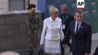 Download G7 leaders and their spouses arrive for concert Video