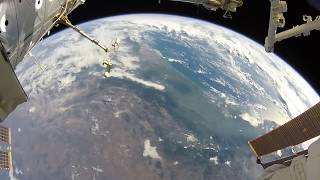 Download Astronaut Spacewalking with a GoPro Video