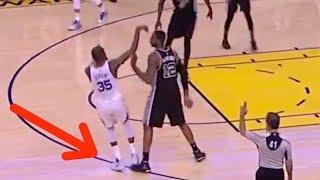 Download LaMarcus Aldridge COPIES Zaza Pachulia's Closeout Move Against Kevin Durant Video