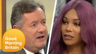 Download Munroe Bergdorf Clashes With Piers in Heated Debate on Gender Fluidity | Good Morning Britain Video