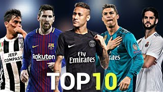 Download Top 10 Skillful Players in Football 2018 Video