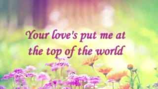 Download Top of The World-The Carpenters (Lyrics) Video