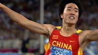 Download Liu Xiang Wins Historic 110m Hurdles Gold - Athens 2004 Olympics Video