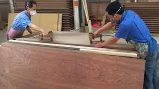 Download زيارة مصنع أبواب في الصين و طريقة صناعة أبواب MDF & HDF Video