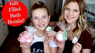 Download Gift Filled Bath Bombs!! Gift Idea!! Video