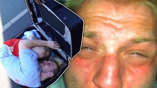 Download I Carried My Friend In A Suitcase For An Entire Day & He Went INSANE Video