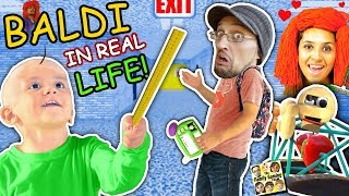 Download BALDI'S BASICS In Real Life!! FGTEEV goes to School of Education & Learning (Skit) Video