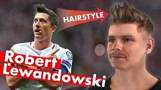 Download Robert Lewandowski Hairstyle - World Cup 2018 - Men's Hair Video