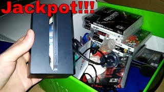 Download JACKPOT!!! Gamestop Dumpster Dive Night #127 Video