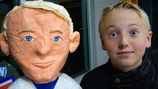 Download What's Inside my Son's PIÑATA TWIN? Video