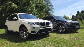 Download BMW X3 xDrive20d F25 LCI vs BMW X1 xDrive18d F48 Comparison & Walkaround Video
