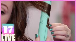 Download Curls with a Flat Iron | Beauty Lab Video