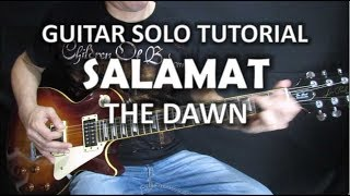 Download Salamat - The Dawn (Guitar Solo Tutorial) Video