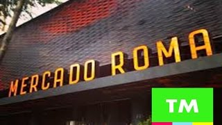 Download Mexico City's HIPSTER Food Market - MERCADO ROMA Video