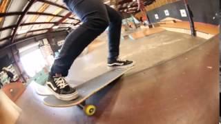 Download Speedlab Wheels team rider Fabiana Delfino styles out a kickflip BS disaster at Skatepark of Tampa. Video