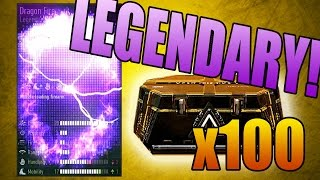 Download ALL LEGENDARY WEAPONS! - 100x Advanced Warfare Supply Drop Opening Video