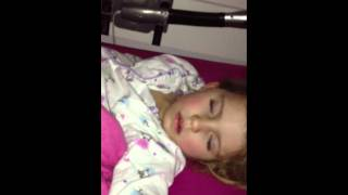 Download Lily snoring Video