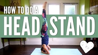 Download Head Stand Yoga Pose - How To Do a Headstand for Beginners Video