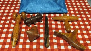 Download New Wooden Trigger Point and Massage Tools from Thailand Video