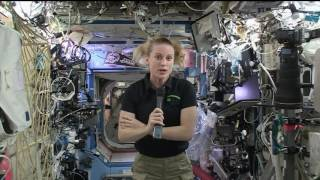 Download NASA Astronaut Talks to Students about Life Aboard the Space Station Video