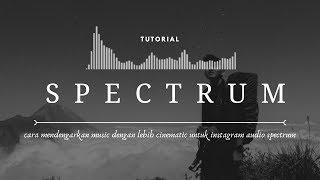 Download Edit Audio Spectrum di Android untuk Instastory Video