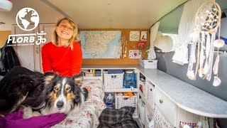 Download Solo Female Traveler chooses Vanlife in Europe Video