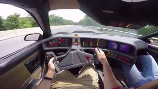 Download Driving the Knight Rider Car for the First Time Video
