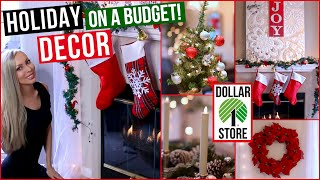 Download EASY and AFFORDABLE Holiday Decor ⭐ Dollar Store Decorating Ideas! Video