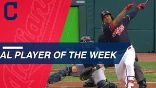 Download American League Player of the Week: Jose Ramirez Video