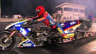 Download Top Fuel Nitro Motorcycle Import vs Harley - Larry ″Spiderman″ Mcbride 5.83et @ 232mph Video