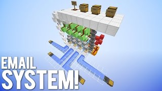 Download Functional Email System in Minecraft! Video