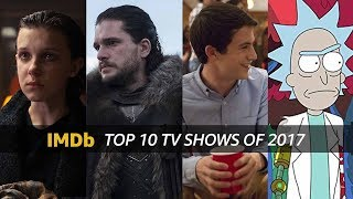 Download IMDb's Top 10 TV Shows of 2017 Video