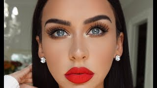 Download GET READY WITH ME: CLASSIC GLAM +KKW REVIEW Video