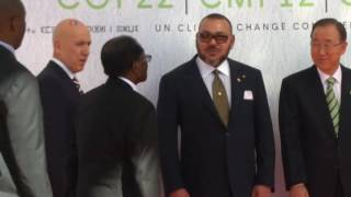 Download Mugabe, Other World Leaders Meet in Morocco For Climate Conference Video