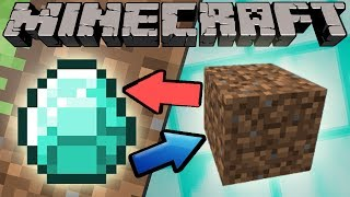 Download If Diamonds and Dirt Switched Places - Minecraft Video