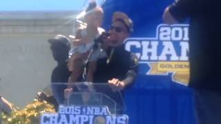 Download Stephen Curry, Riley Curry Speech At Warriors Parade Rally Oakland Video