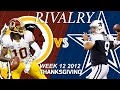 Download Redskins vs. Cowboys (Week 12, 2012) | RGIII Shines on Thanksgiving | Classic Game Highlights | NFL Video