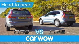 Download Volvo XC60 D5 vs D4 - is the extra power worth the extra cash or should you spend it elsewhere? Video