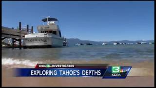 Download Mysterious creature spotted in depths of Lake Tahoe Video
