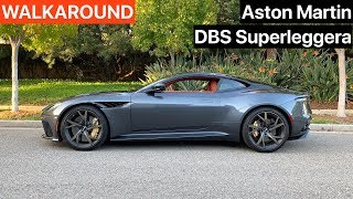 Download Aston Martin DBS Superleggera Walkaround + Sound (No Talking) Video