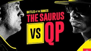 Download KOTD - Rap Battle - The Saurus vs QP | #BATB2 Video