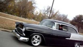 Download Have you ever dreamed about a MEAN '55 Chevy? Was this it? Video
