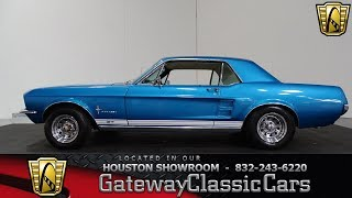 Download 1967 Ford Mustang GT #908 Gateway Classic Cars Houston Showroom Video