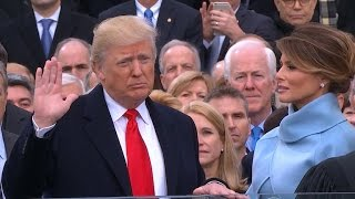 Download Donald J. Trump is sworn in as the 45th President of the United States Video