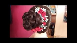 Download Latest New Wedding Hairstyle for Bridal#Traditional Asian Bridal Hair#Hairstyles for wedding/party Video
